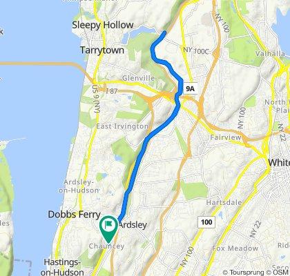 Easy ride in Yonkers