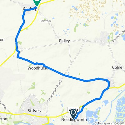2 Church Street, St Ives to 1 Wilthorne, Huntingdon