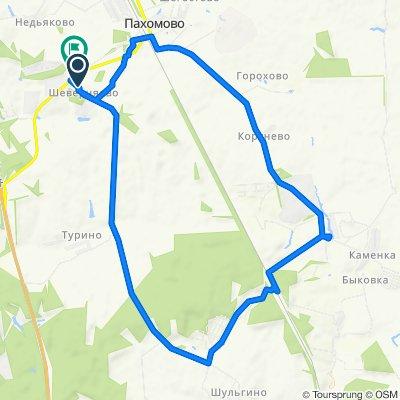 Спокойный маршрут в Пахомовское