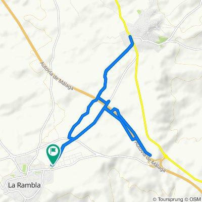 Ruta constante en La Rambla