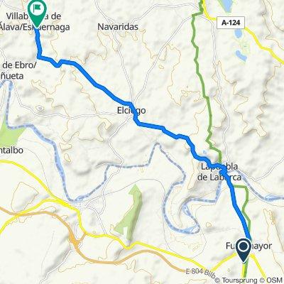 De Carretera de Navarrete 19, Fuenmayor a El Monte Kalea 10, Eskuernaga