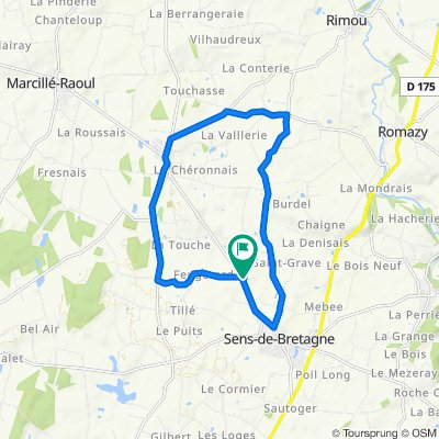 St-Rémy -> Sens (campagne)