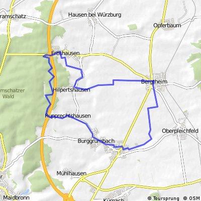 Bergtheim - Gramschatzer Wald - Bergtheim
