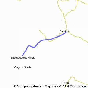 São Roque de Minas - Bambuí