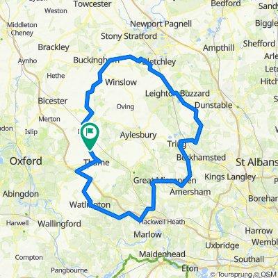 100 miles route 1