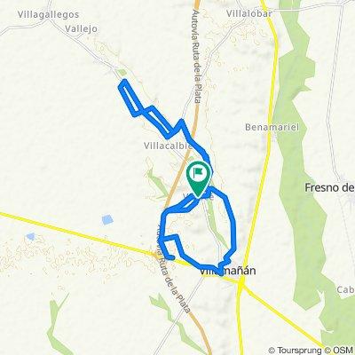 Ruta tranquila en Villamañán