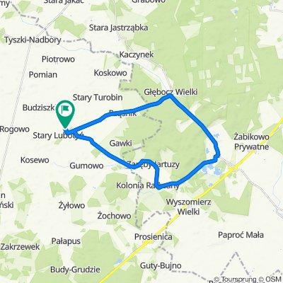 Niezwykle szybka trasa w Stary Lubotyń
