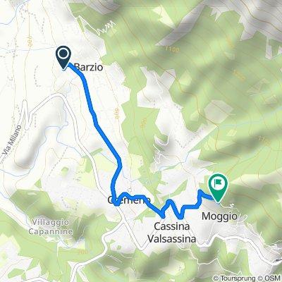 Easy ride in Moggio