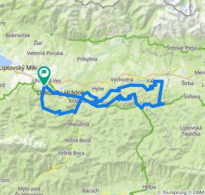 Trasa/Route 25 | mtbliptov.bike
