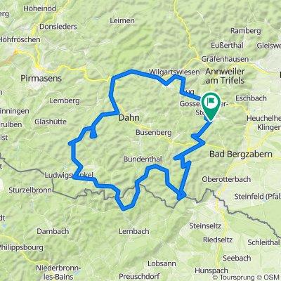 Pfalz: 1 Tour ab Silz kurz