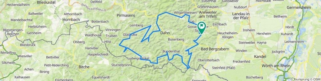 Pfalz: 2 Tour ab Silz lang