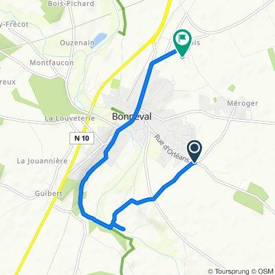 Itinéraire modéré en Bonneval
