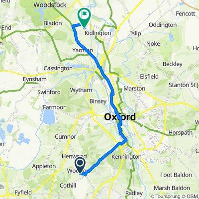 2 Huxley Close, Abingdon to Oxford Motor Park, Langford Lane, Kidlington