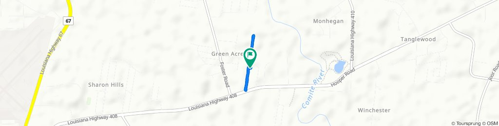 Breeden Drive 9488, Baton Rouge to Breeden Drive 9488, Baton Rouge