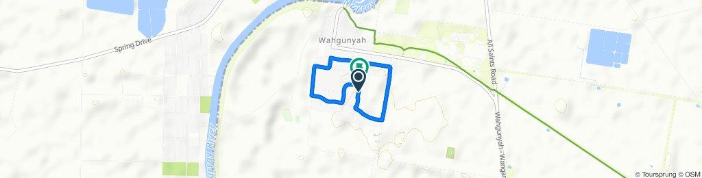 Moderate route in Wahgunyah