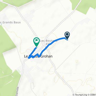 Itinéraire confortable en Le Plessis-Grohan