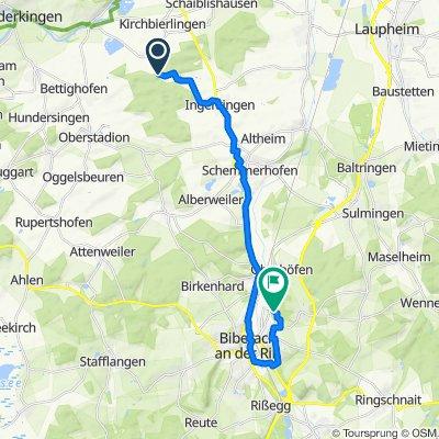 Moderate Route in Ehingen (Donau)
