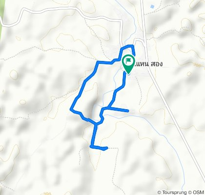 Slow ride in Tha Wang Pha