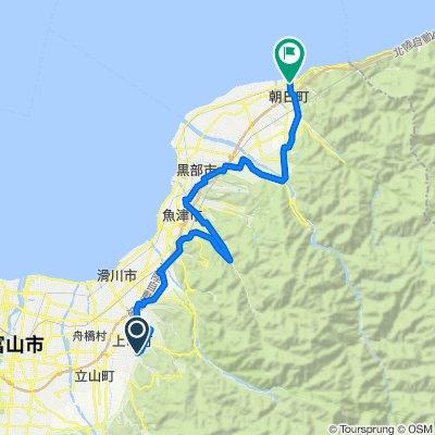 田園サイクリングコース(大岩口~朝日町)