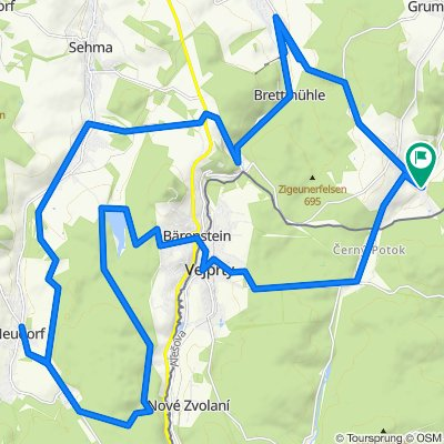 Karzl-Tour von Neudorf ins Preßnitztal und zurück