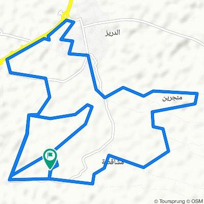 Unnamed Road, الدريز to Unnamed Road, الدريز