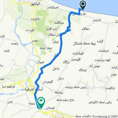 Lalah Vachehsar to Unnamed Road