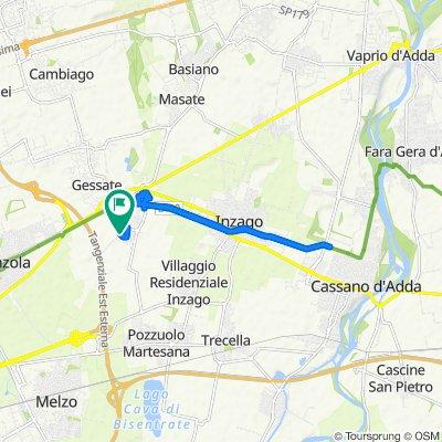 Easy ride in Bellinzago Lombardo