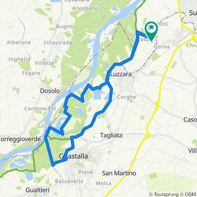 Da Via P. Borsellino 33, Suzzara a Via P. Borsellino 31, Suzzara