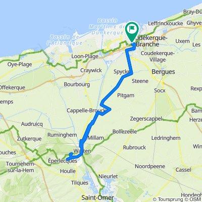 Visite rapide en Dunkerque