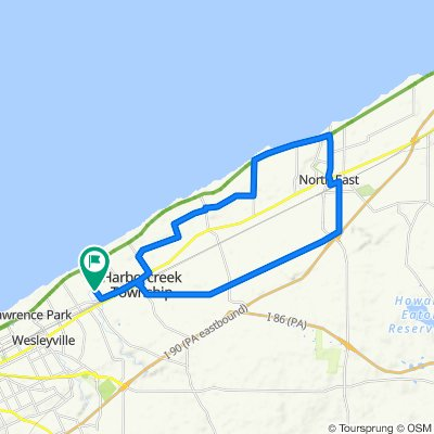 Cracking ride in Erie