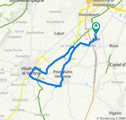 Giro velocissimo in Villafranca di Verona