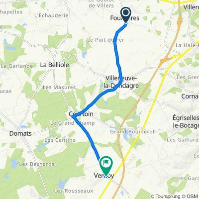 Itinéraire reposant en Vernoy