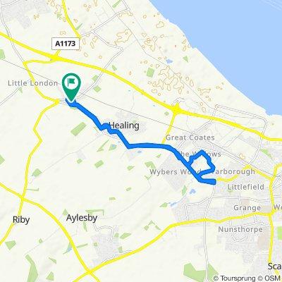 48 Leggott Way, Grimsby to 48 Leggott Way, Grimsby