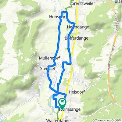 Moderate route in Walferdange
