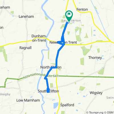 Supersonic route in Lincoln