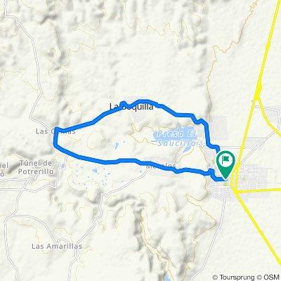 Ruta constante en Rincón de Romos