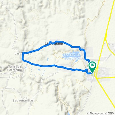 Paseo lento en Rincón de Romos