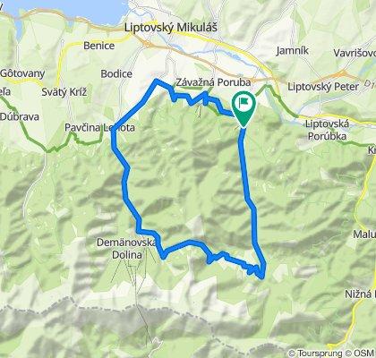Trasa/Route 33 | mtbliptov.bike