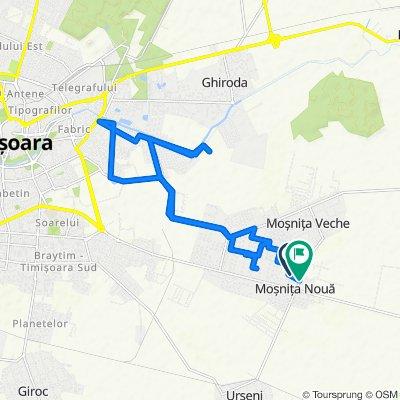 Moderate route in Moşniţa Nouă - Uzina de apă Plopi