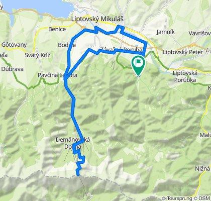 Trasa/Route 34 | mtbliptov.bike