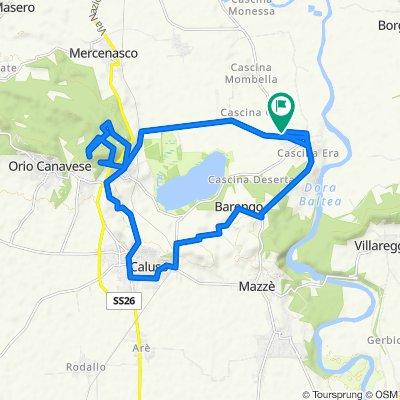 Steady ride in Vische
