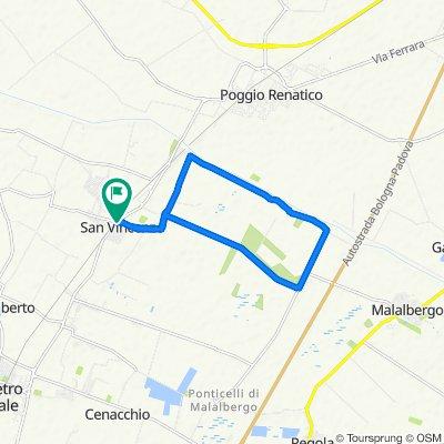 Da Via Provinciale 73/C, San Vincenzo a Via Provinciale 73/C, San Vincenzo
