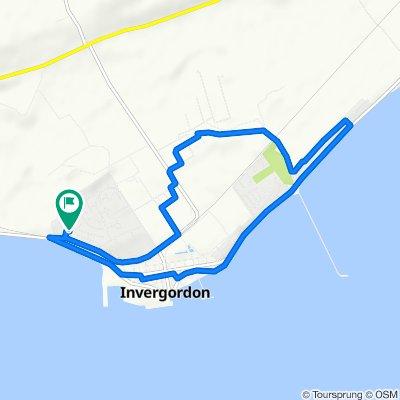 Slow ride in Invergordon