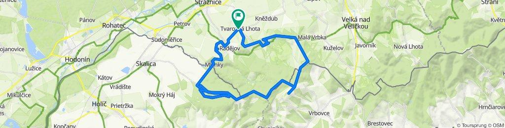 Cyklotrasy 041 - Bílé Karpaty