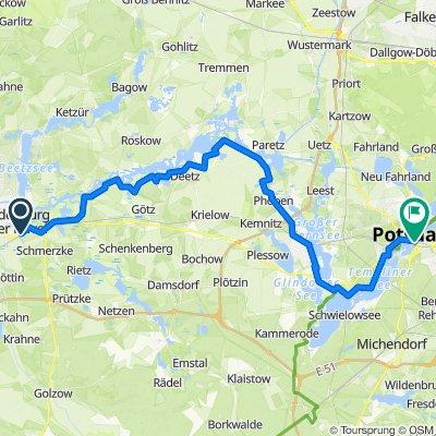 Brandenburg to Potsdam