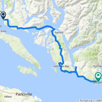 Sunshine Coast Bike Route