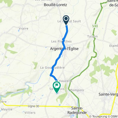 De 163 Rue de Villeneuve, Argenton-l'Église à 24 Rue des Pineaux Soulbrois, Mauzé-Thouarsais