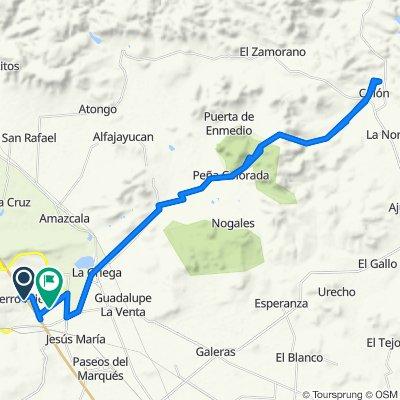 Ruta relajada en El Marqués
