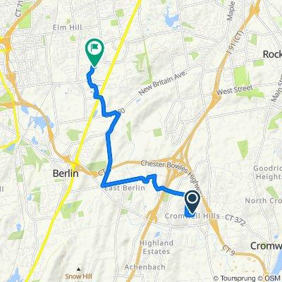 4 Cheryl Ct, Cromwell to 152 Rockwell Rd, Newington