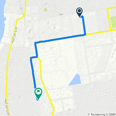 Sporty route in